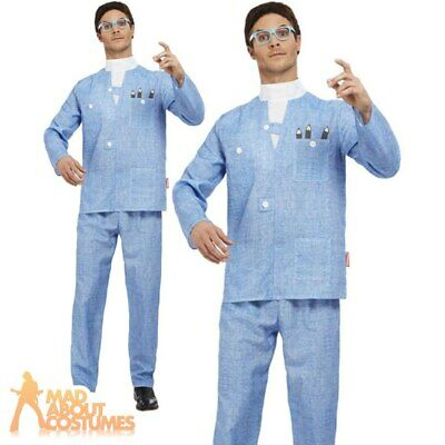 £48.99 • Buy Adult Thunderbirds Brains Costume 1960s TV World Book Day Fancy Dress Outfit