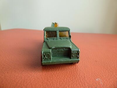 Corgi Juniors GREEN Military Vintage Land Rover Army Recovery Truck Car Toy • 7.99£