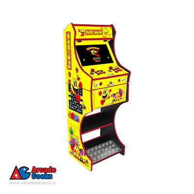 Pac-Man Themed Arcade Machine  2 Player -3188 Games +Free UK Delivery • 659£