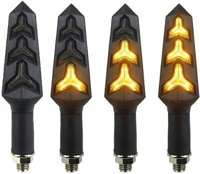 AU26.06 • Buy 4X LED Turn Signal Lights Blinker FOR  Kawasaki Z1000SX Z750 Z1000 Z650 Z900 800