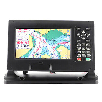 £465.45 • Buy Marine GPS Navigator Color LCD Display Chart Plotter Support For C‑Map/XINUO‑MAP
