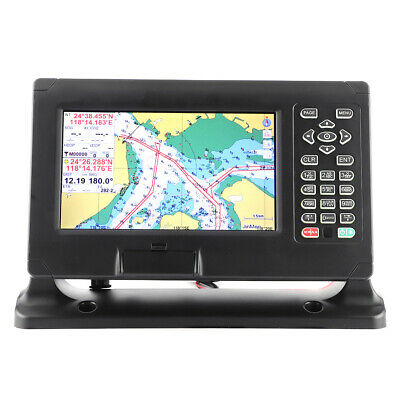 Marine GPS Navigator Color LCD Display Chart Plotter Support For C‑Map/XINUO‑MAP • 485.45£