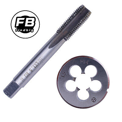 $11.99 • Buy HSS M14 X 1.5mm Metric Tap And Die Set Right Hand Thread High Quality US Stock