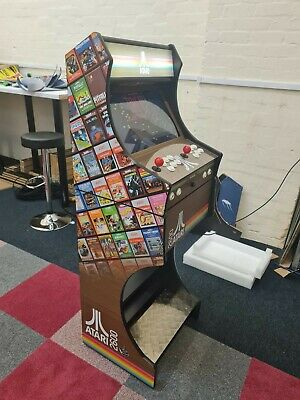Atari Themed Arcade Machine  2 Player -3188 Games +Free UK Delivery • 659£