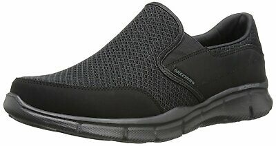 Skechers Mens Mind Game Suede Round Toe Slip On Shoes, Black, Size 11.0 NiaT US • 36.99£