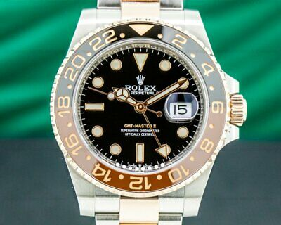 $ CDN26397.85 • Buy Rolex 126711CHNR GMT Master II 126711 Ceramic Root Beer SS / 18K 2019