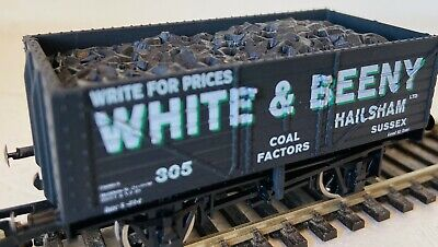 White & Beeny 7 Plank Coal Wagon Pristine OO By Simply Southern • 10£