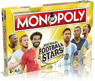 £30.39 • Buy Winning Moves Monopoly World Football Stars Edition Fun Family Board Game