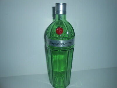 ( 5 X ) TANQUERAY No.TEN 10 GIN ( EMPTY ) BOTTLE '' 1L '' / PERFECT • 17.99£
