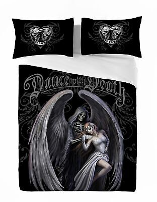 Anne Stokes DANCE WITH DEATH Duvet & Pillow Cover Set UK SuperKing /US Kingsize • 89.95£