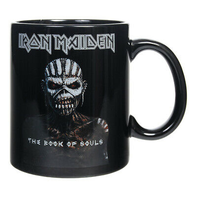 IRON MAIDEN Souls Black MUG - Official Boxed Ceramic Coffee Cup Gift • 10.18£