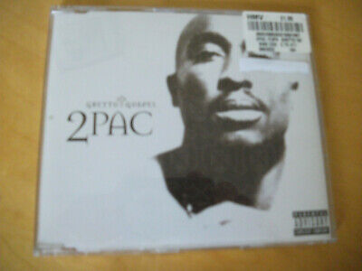2PAC GHETTO GOSPEL 2 TRACK CD SINGLE Pre-owned • 2.09£
