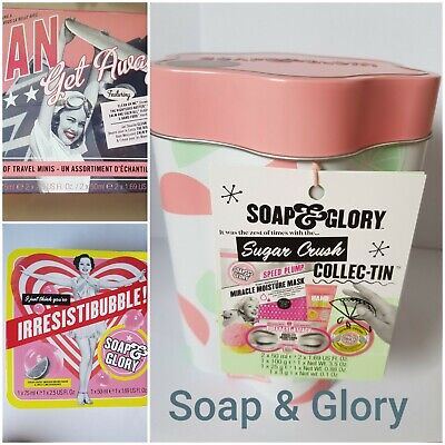 Soap And & Glory Bath Body Pink Sugar Crush Gift Set Collection  Christmas • 15.55£