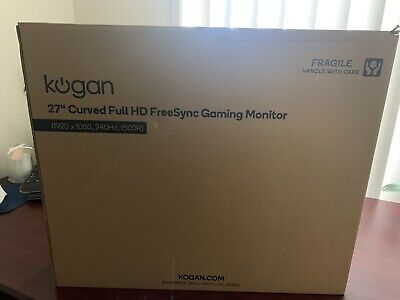 AU520 • Buy Kogan 27  Curved Full HD 240Hz FreeSync Gaming Monitor (1920 × 1080)