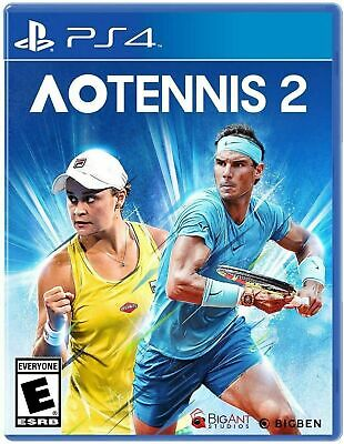 AU44 • Buy AO Tennis 2 PS4 Playstation 4 Brand New Sealed
