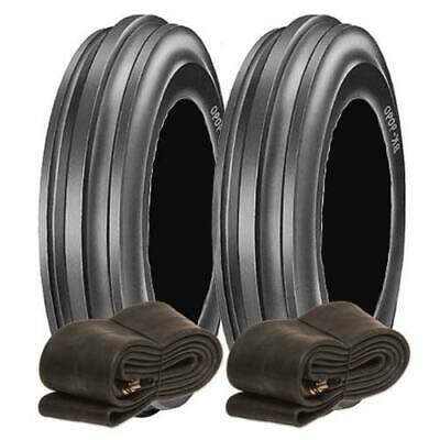 £159.75 • Buy 2X 6.00-16 BKT TF9090 Tractor Front Tyres & Tubes, Agricultural 600-16
