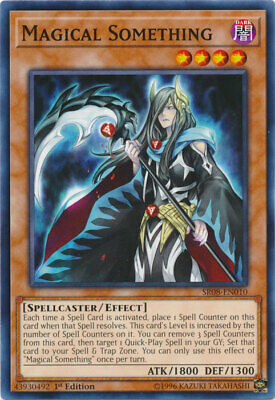 AU4.50 • Buy Magical Something Common Order Of The Spellcasters Yugioh Card