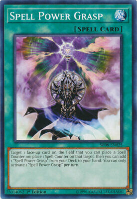 AU4.50 • Buy Spell Power Grasp Common Order Of The Spellcasters Yugioh Card