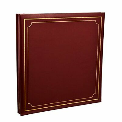 Extra-Large 32x26cm Self Adhesive Photo Album 24/Sheets 48/Sides Leather • 26.99£