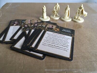 A Song Of Ice And Fire Baratheon Characters And Tactics Cards A • 20£