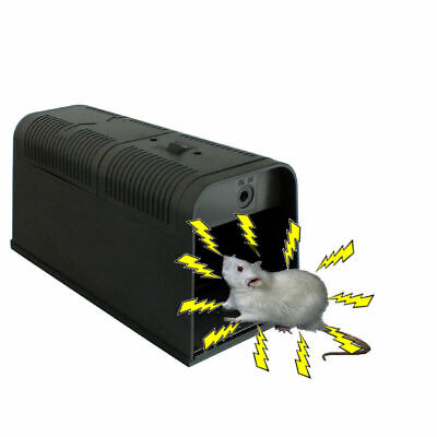 Electronic Mouse Trap Mice Rat Killer Pest Control Electric Zapper Rodent UK • 23.95£