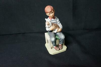 $ CDN24.64 • Buy Vintage Norman Rockwell At The Vets Gorham Porcelain Figurine
