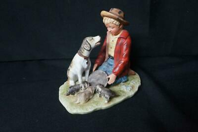 $ CDN31.13 • Buy Vintage Norman Rockwell Pride Of Parenthood Gorham Porcelain Figurine
