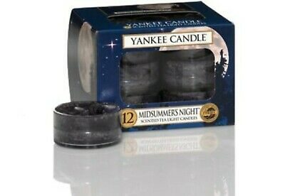 Yankee Candle Classic - Scented Tea Light Candle Midsummer's Night  • 16.90£