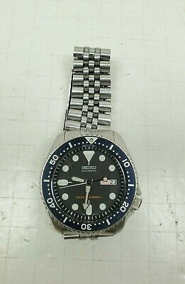 $ CDN323.47 • Buy Seiko SKX007K2 Brushed Stainless Steel Wrist Watch Diver