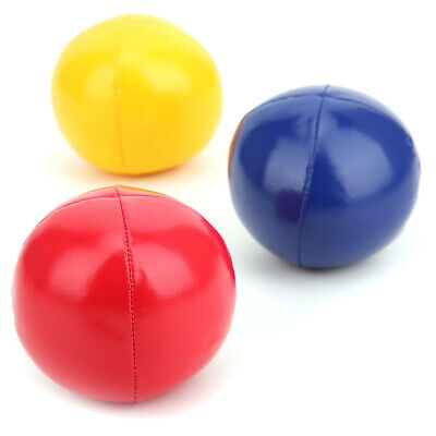 AU19.38 • Buy Juggling Balls 3 Pcs Soft Juggling Balls For Beginners Pu Leather Indoor Leisure