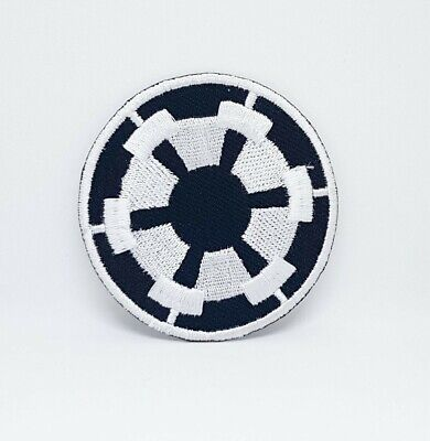 STAR WARS Movies Iron Or Sew On Embroidered Patches - STAR WARS BLACK... • 1.89£