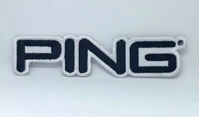 £1.80 • Buy Ping Golf Title Iron On Sew On Embroidered Patch