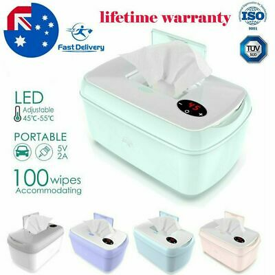 AU39.99 • Buy Baby Wipes Heater Portable Wipes Thermostat Baby Wipes Warmer Home Outing