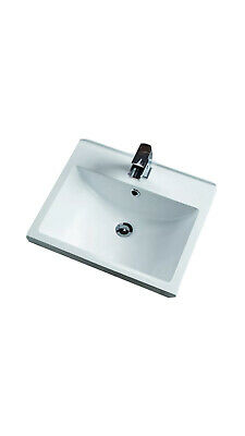 Sink/Basin Mid Edge Style Inset Counter Top Basin 506x430x190 New CTB506 • 55£