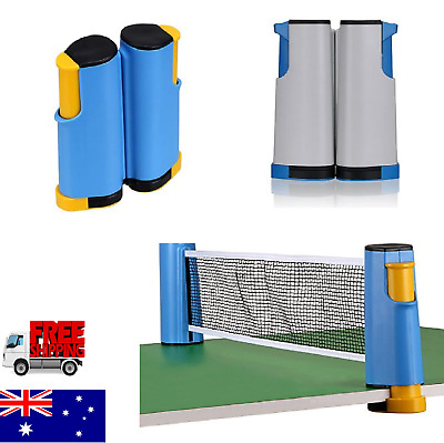 AU20.89 • Buy Portable Table Tennis Net Rack Retractable Adjustable Table Tennis Net And Post