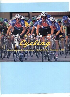 Rare LANCE ARMSTRONG Signed CYCLING Program EBAY CHEAPEST • 16.08£