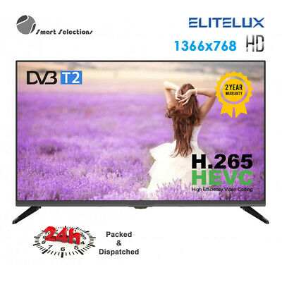 AU168 • Buy EliteLux L32HD1000 LED HD TV PVR USB Meida Play Recording 32inch Dolby HDMI DVBT