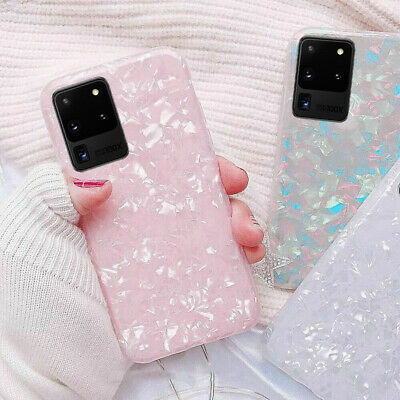 $ CDN4.66 • Buy For Samsung Galaxy S21 Ultra S20 S10 S9 Plus Bling Marble Hard Phone Case Cover
