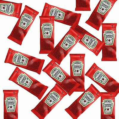 30 X 11g Sachets Heinz Tomato Red Sauce Ketchup Individual Portion Catering • 5.98£