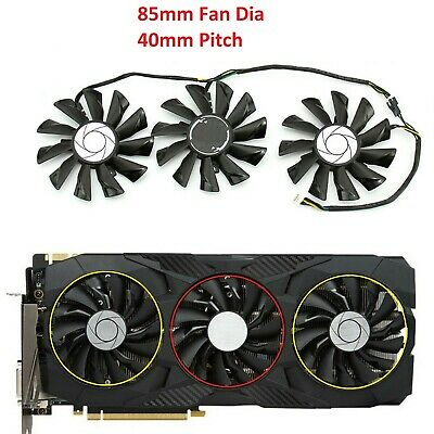 $ CDN32.99 • Buy Fan For MSI GeForce GTX 1070 1060 1080Ti 980Ti Duke Video Card VGA Cooler Fans