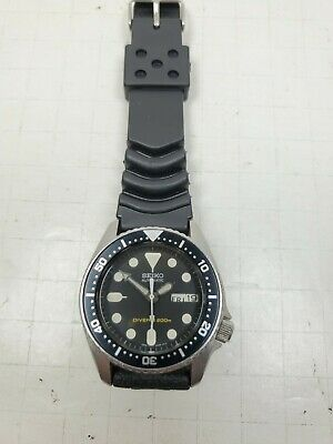 $ CDN275.31 • Buy Seiko Midsize Diver Automatic Watch 38mm SKX013 Rubber Band 7s26-0030