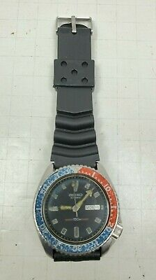 $ CDN230.67 • Buy Seiko 6309-729A Pepsi Turtle Men's Automatic Vintage Diver Watch