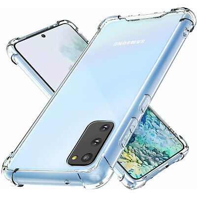 $ CDN6.32 • Buy Clear Shockproof Case For Galaxy Note 20 Ultra 10 9 8 5 S6 S7 S8 S9 S10 S20 Plus