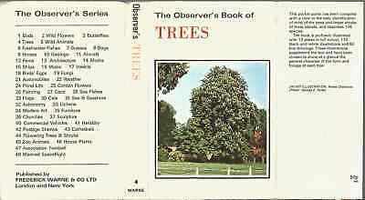 £4.99 • Buy The Observer's Book Of TREES