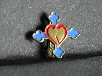 $4.59 • Buy Ancienne Medaille Religieuse Brooch Broche Pin Heart M 532