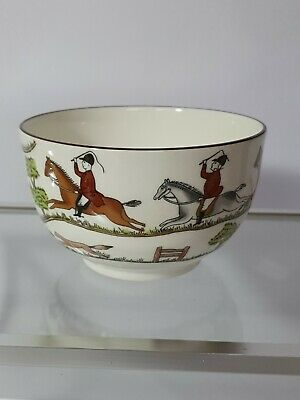 Coalport Hunting Scene Sugar Bowl • 7.80£
