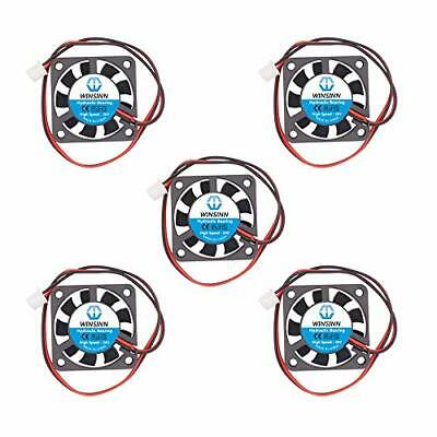 40mm Fan 24V Hydraulic Bearing Brushless 4010 40x10mm - High Speed Pack Of 5 • 13.21£