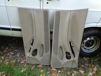 $299.99 • Buy 94-04 MUSTANG DOOR PANEL PANELS Tan/Parchment SET LEFT RIGHT I30