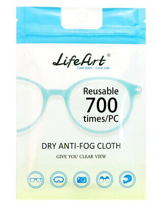 1 Pack Anti-Fog Wipe, Eyeglasses Cleaning Cloths, Cleaning Wipes For Eyeglasses • 6.95£