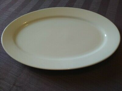 Large White 10 Oval Plates/platters 41cm/16  X 28cm/11  £40 For 10 Or £25 For 5 • 40£